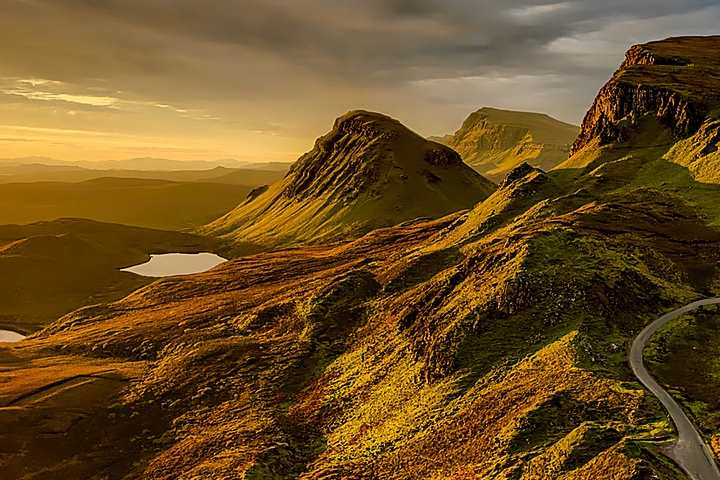 Schottland Lowlands/Highlands